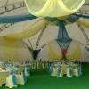 Оформление шатров