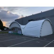 Арочный шатер 10x15
